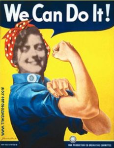 We can do it poster with Jane's face