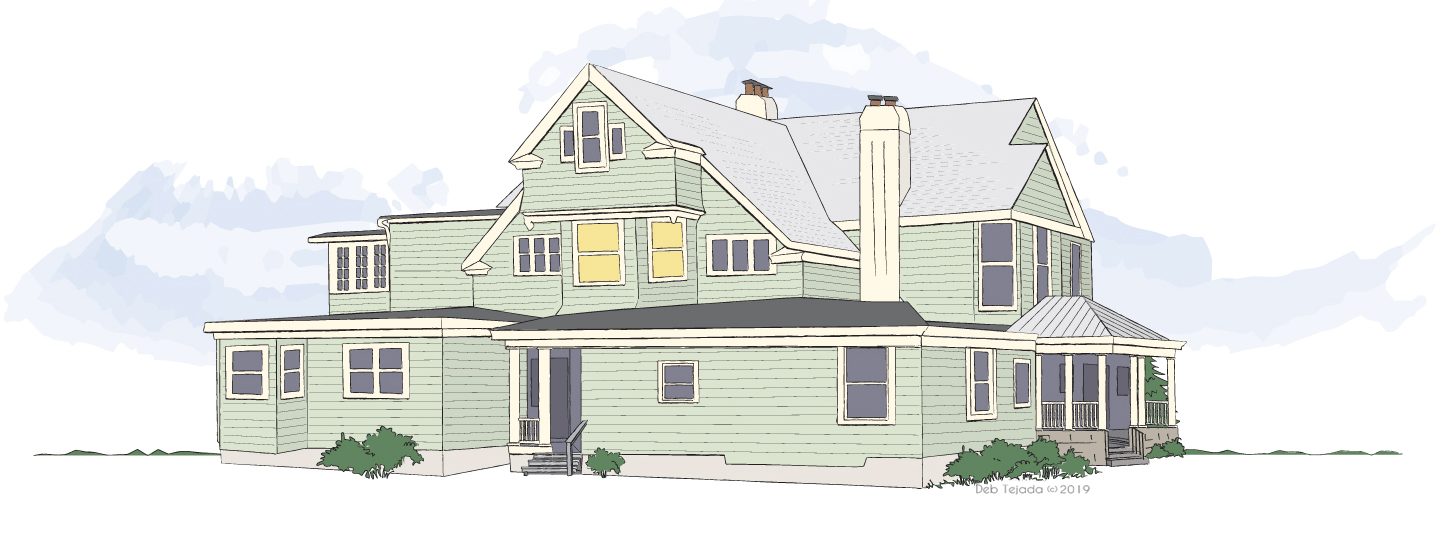 Illustration of the Seth House