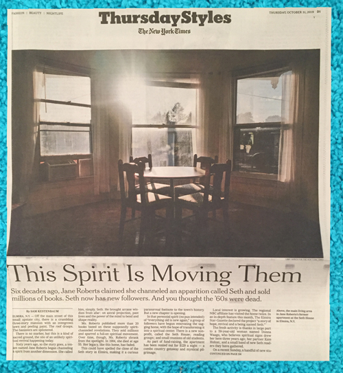 Times article This Spirit is Moving Them