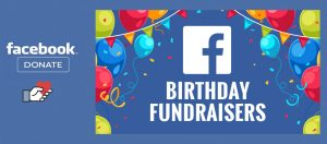 facebook fundraiser button