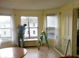 Repairing the bay windows