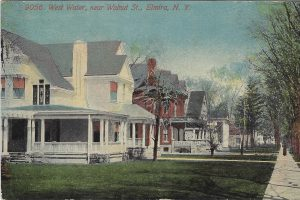 The Seth House as one family mansion 1908 - Elmira NY - Jane Roberts