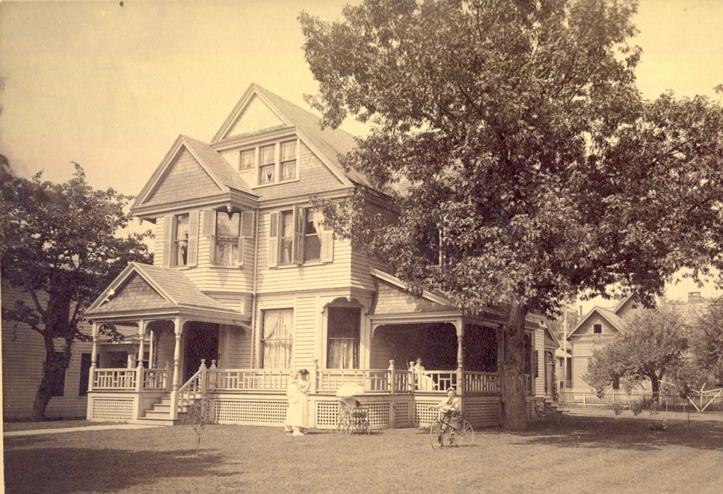 The Seth House as one family mansion 1888 - Elmira NY - Jane Roberts
